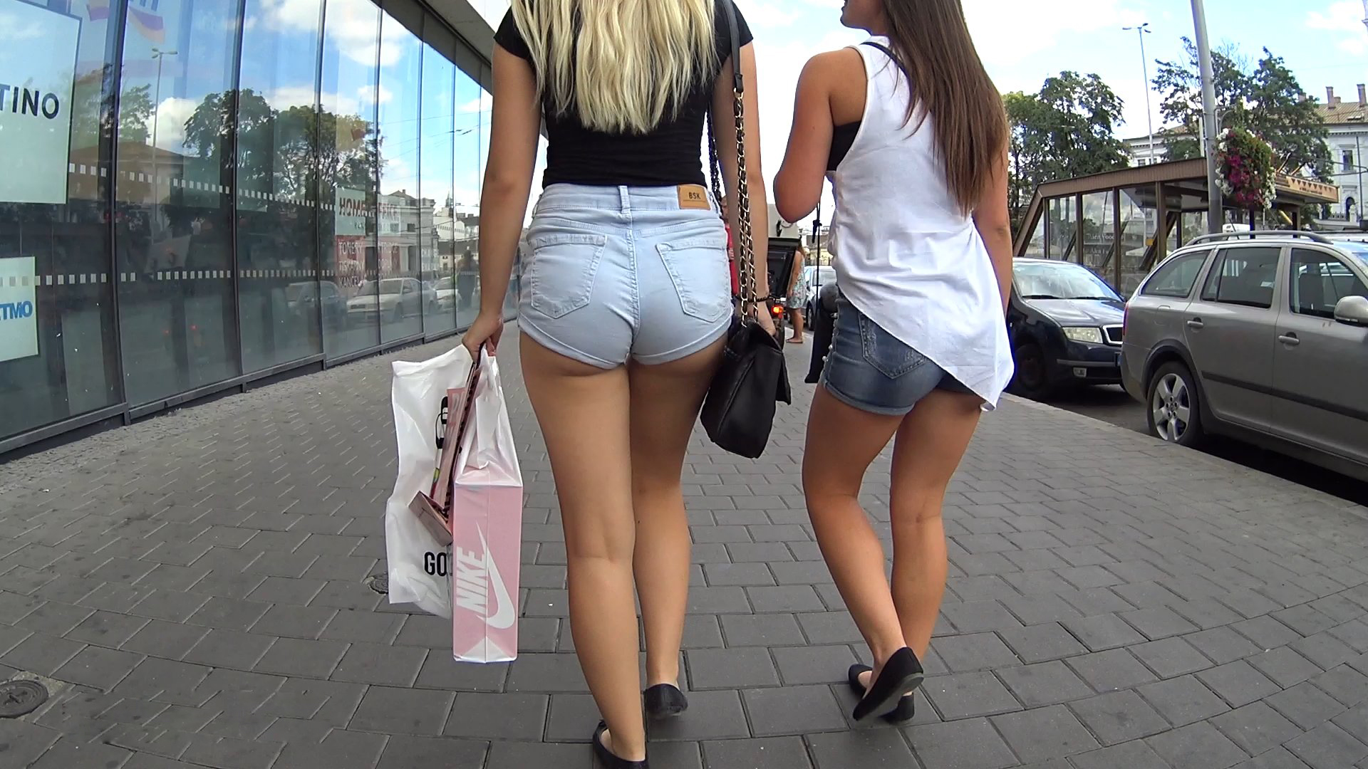 Affiliates Nylon Tricot Legging - Big Teenage Dicks